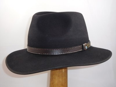 Akubra 'The Outback' Zwart