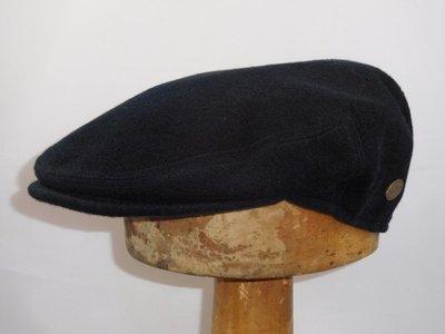 Alfonso D'Este Klassieke pet 'Bristol' Navy Cashmere