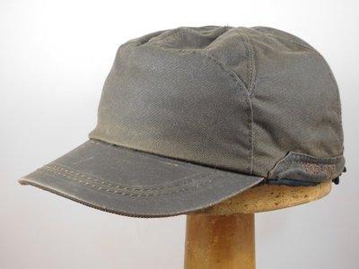 Hatland wax baseballcap 'Nabil' bruin
