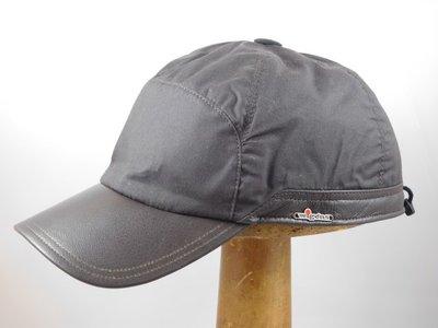 Wigens Baseballcap / Wax met oorklep Donkerbruin