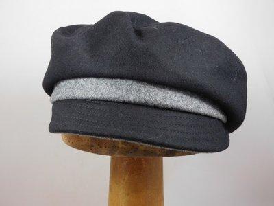 Bronte damespet 'rechte bol' zwart grijs