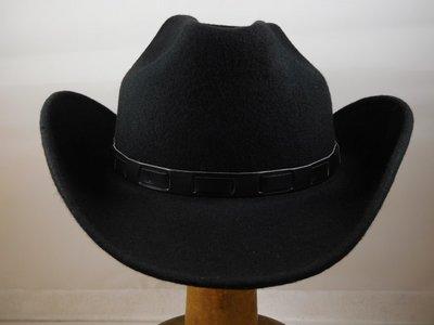 Fiebig westernhoed zwart