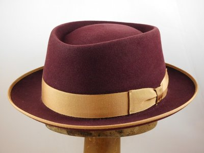 Baldini Pork Pie bordeaux beige