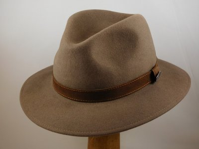 Borsalino Alessandria Taupe 'Outdoor Model'
