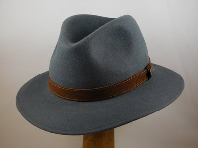 Borsalino Alessandria Grijs 'Outdoor model'