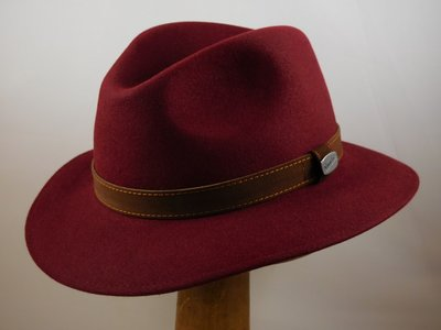 Borsalino Alessandria Bordeaux 'Outdoor model'