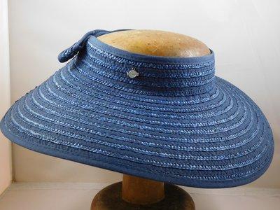 Seeberger zonnerand blauw