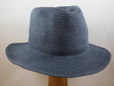 Bronte zomerhoed 'Trilby' traveler raw blauw