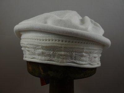 Parkhurst baret sierrand katoen wit