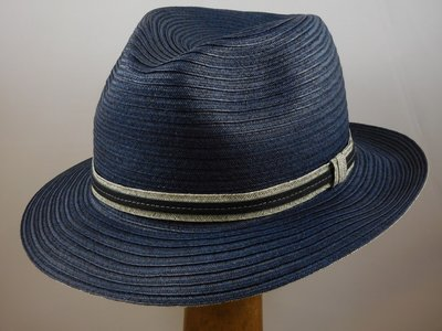 Mayser zomerhoed 'Amos' blauw