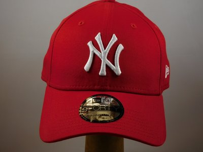 New Era Baseballcap NY Yankees / Rood