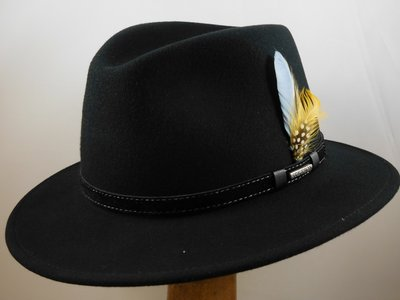 Stetson outdoorhoed 'Vancouver' zwart