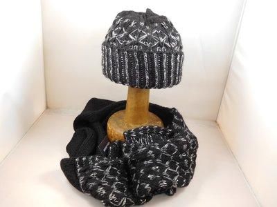 Seeberger sjaal kruismotief zwart