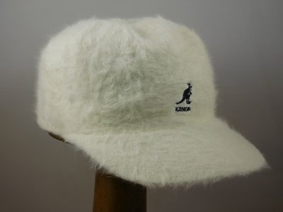 Kangol baseball 'Furgora Links' wit