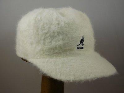 Kangol Furgora Links Baseballcap / Wit