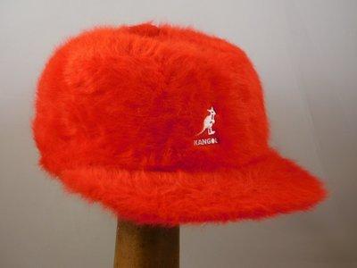 Kangol Furgora Links Baseballcap / Rood