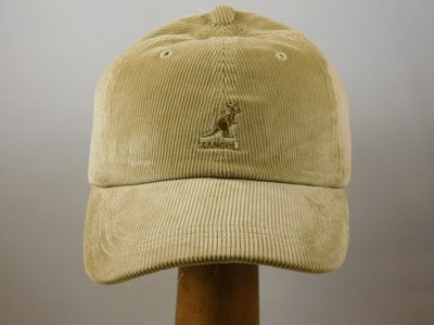 Kangol 'Cord' baseball cap beige