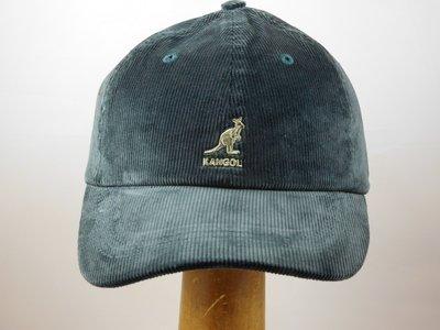 Kangol 'Cord' baseball cap grijs