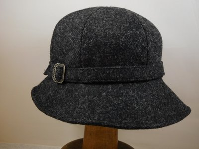 Bronte Harristweed Cloche / Antraciet