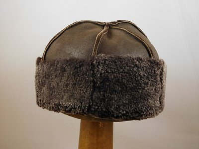 Bronte bontmuts shearling bruin