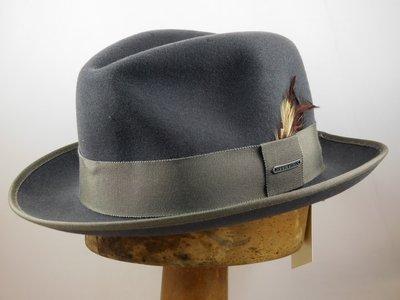 Stetson outdoorhoed 'Bogart' wolvilt grijs