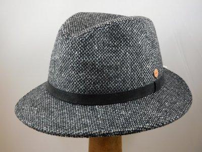 Mayser 'Hugo' tweed grijs