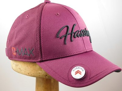 Hassing Baseballcap 'Rught' bordeaux