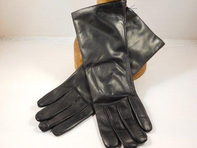 Cardei dameshandschoen klassiek extra lang zwart