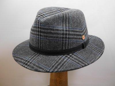 Mayser 'Hugo' Tweed ruit grijs