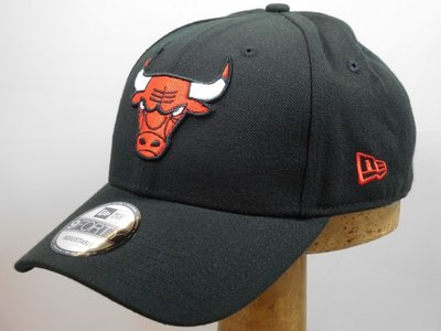 New Era baseballcap Chicago Bulls zwart