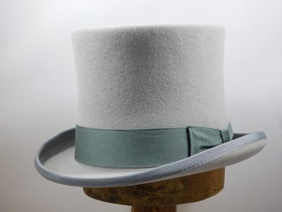 Baldini Hoge hoed / Parelgrijs