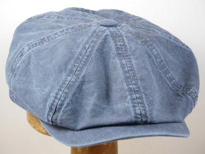 Stetson 'Hatteras' Organic Cotton / jeans blue