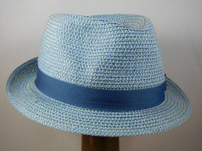 Stetson Toyo Trilby blauw