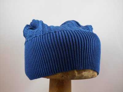 Bedacht Katoenen Muts / Blauw