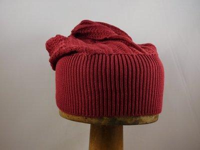 Bedacht Katoenen Muts / Rood