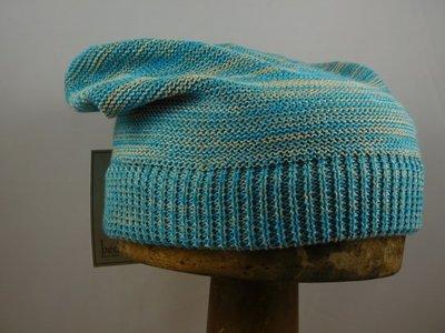 Bedacht Katoenen Muts / Multicolour Turquoise
