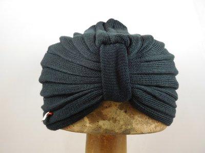 Bedacht zomer turban zwart