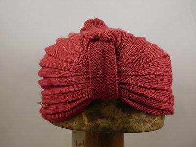 Bedacht zomer turban bordeaux