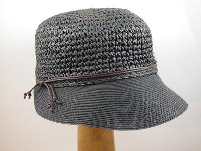 Bronte zomerpet crochet  'Emma' zwart