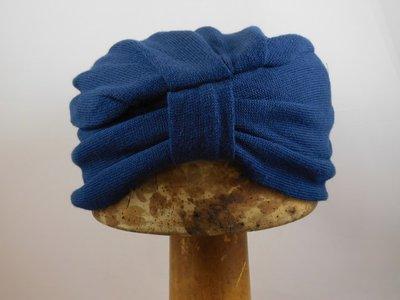 Parkhurst 'Turban' katoen blauw