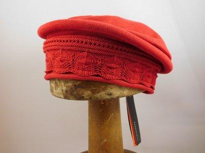 Parkhurst baret sierrand katoen rood