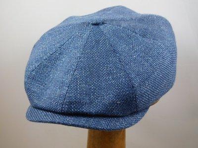 Stetson 'Hatteras' Wool & Linnen / Blauw