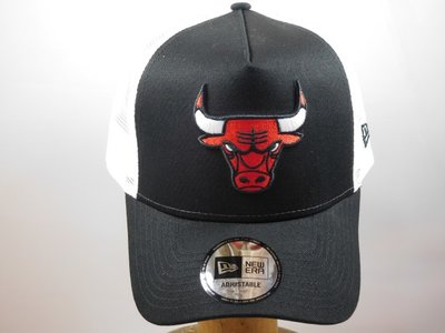 New Era baseballcap mesh Chicago Bulls zwart