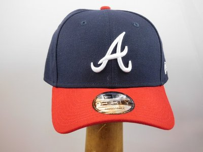 New Era baseballcap Atlanta Braves  blauw rood