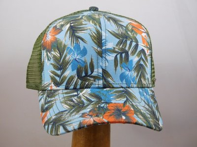Stetson baseballcap mesh jungle groen blauw