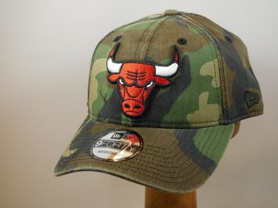 New Era baseballcap camo chicago Bulls