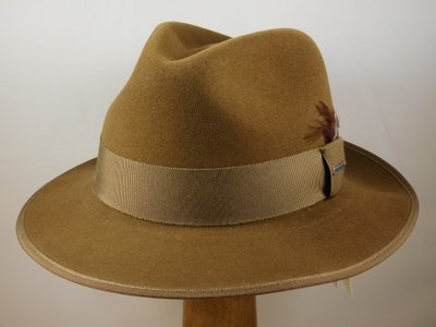 Stetson outdoorhoed 'Bogart' wolvilt beige