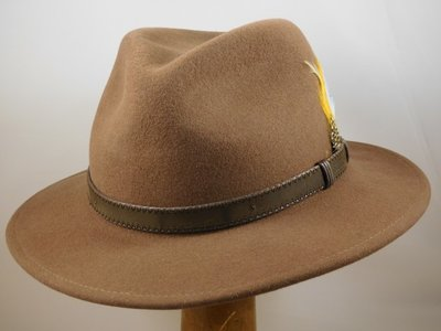 Stetson outdoorhoed 'Rutherford' camel
