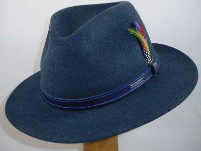 Stetson outdoorhoed 'Powell' blauw melé