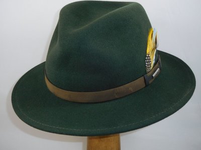 Stetson outdoorhoed 'Traveller' groen